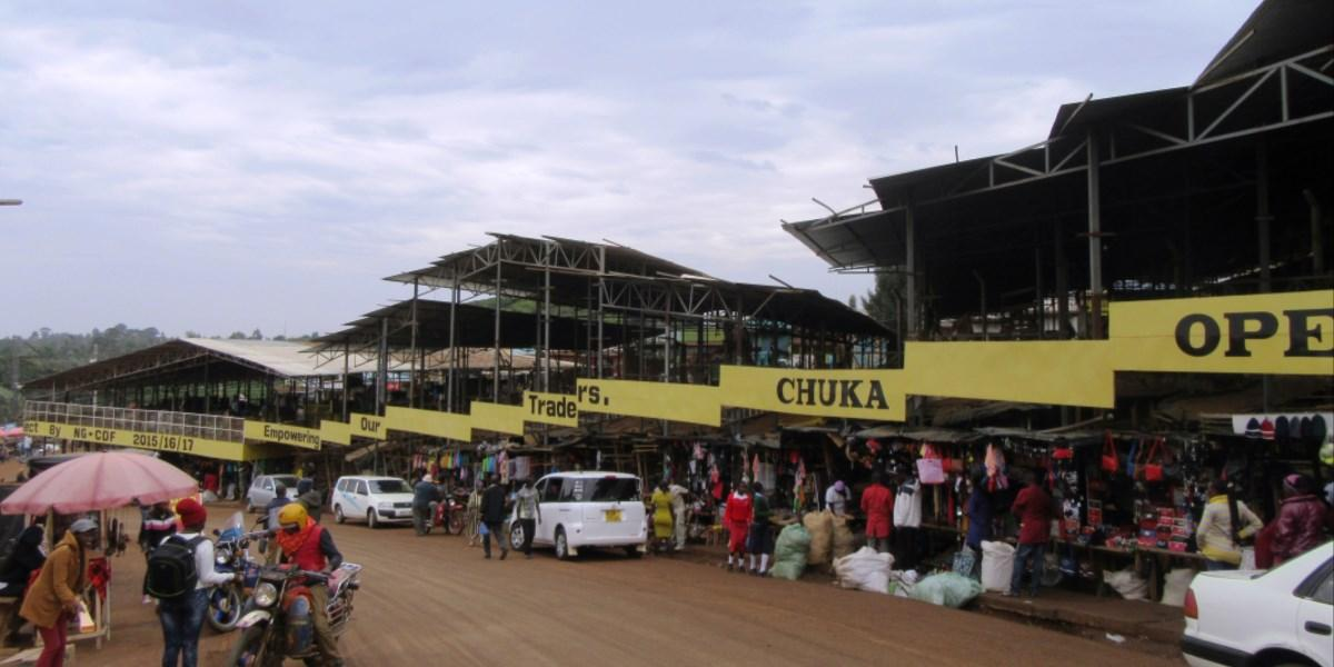 Chuka Open air Market